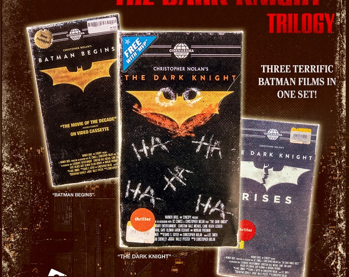 The Dark Knight Trilogy VHS