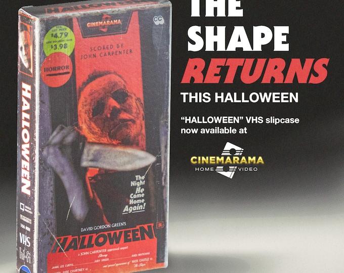 Halloween VHS slipcase