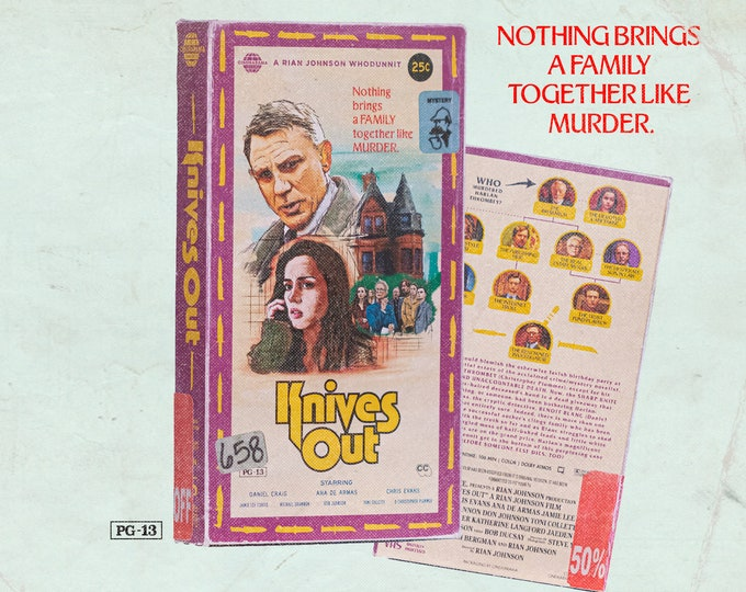 Knives Out VHS