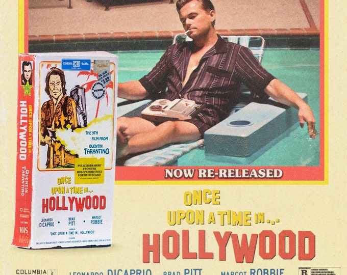 Once Upon A Time in...Hollywood VHS