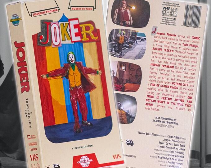 Limited Edition Joker VHS slip case