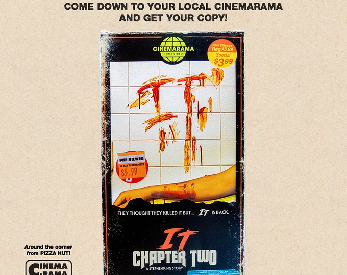 IT Chapter Two VHS