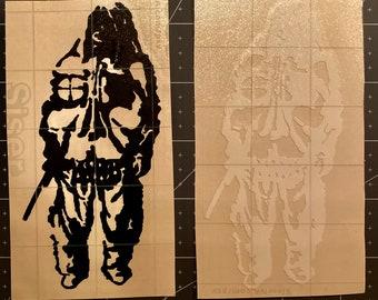 Shadowman Vinyl Decal
