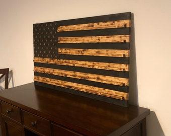 America Flag Challange Coin Rack