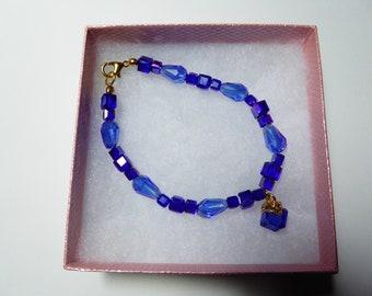 Crystal Glass beads Beaded Bracelet