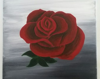 Classic Red Rose