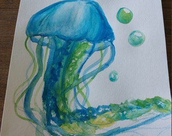 Water color Jellyfish