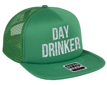 8ab683fb85f Day Drinker - St Patricks Day Theme - Trucker Hat