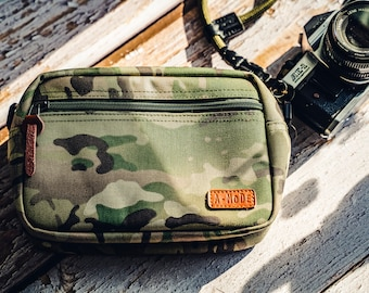 Camo Camera Bag Insert Bag