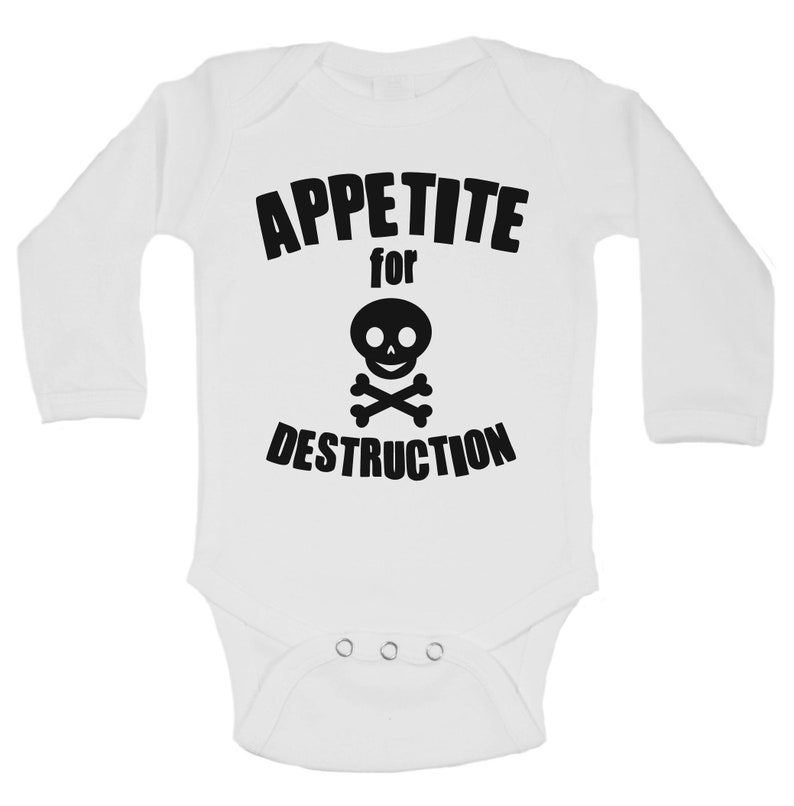 Family Wildling Onesie Christmas in July SALE Cute Baby Bodysuits and Kids Toddler Shirts  Appetite for Destruction Boys Skull Shirt C