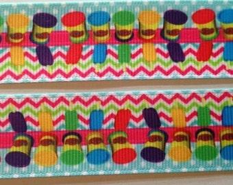"Play-Doh grosgrain ribbon 1"""