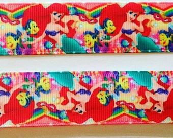"Ariel grosgrain ribbon 1"""