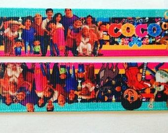 "COCO Grosgrain ribbon 1"""