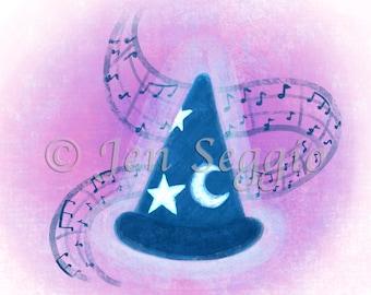 Musical Magic // Art print // Digital illustration // Disney