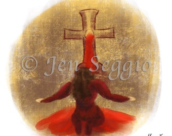 The Blood is the Life // Art print // Digital illustration // Bram Stoker's Dracula