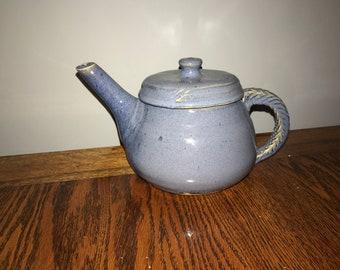 Hand Thrown Ceramic Tea Pot.