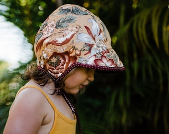 Reversible Summer Bonnet