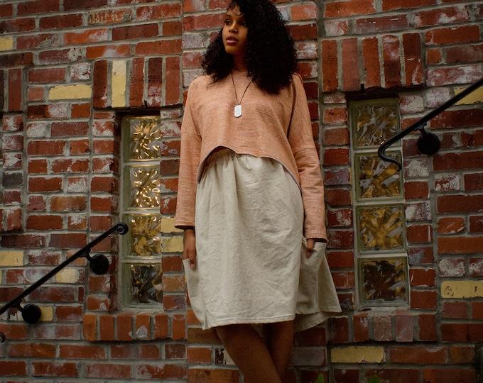 NATURAL - Linen Blend Skirts