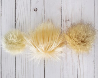 Faux-Fur Poms