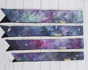 Hand-Dyed Galaxy Headwraps - ALL SIZES