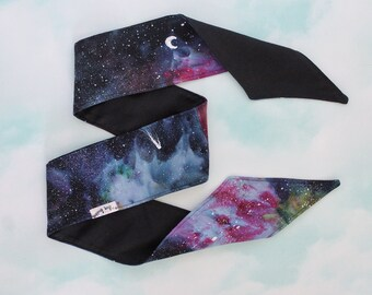Instagram PRE-ORDER ONLY - Hand Dyed Galaxy Headwraps