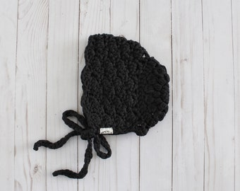 Crochet Lace Bonnet Made-to-Order