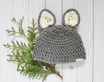 Crochet Baby Animal Toque Made-to-Order