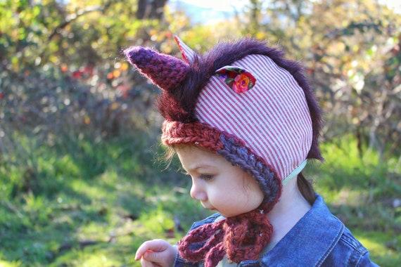 Custom Unicorn Bonnet