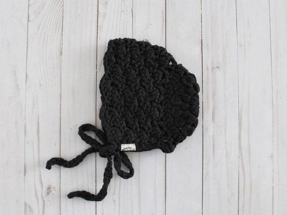 Crochet Lace Bonnet - Ready-to-Ship