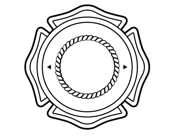 Fire Shields Badge Police Cut Different Styles Vinyl Decal