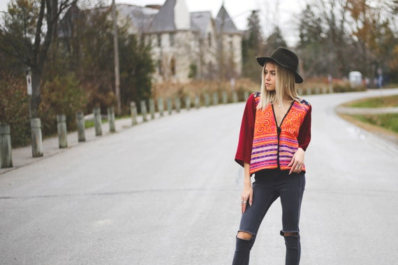 Woodstock Embroidered Top