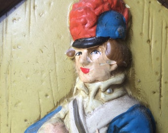 Vintage French Soldier Cast