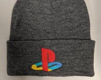 0eb2de959c8f9 Playstation Logo Beanie