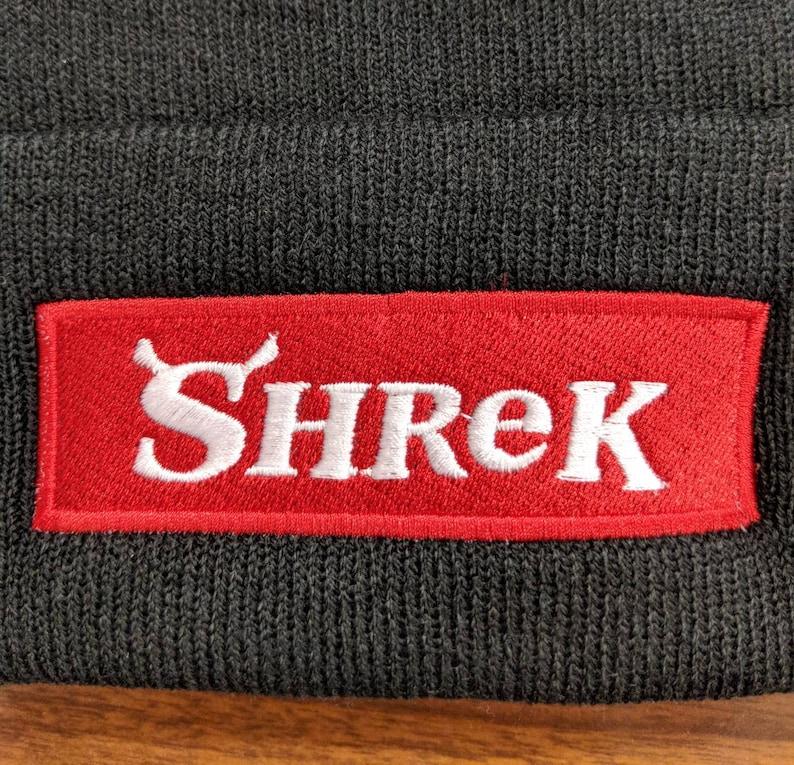 Shrek Supreme Logo Beanie  833d5ff0930