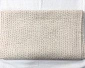 Indian handmade plain Cotton kantha 100 pure Cotton fabric Kantha Quilt throw bedspread