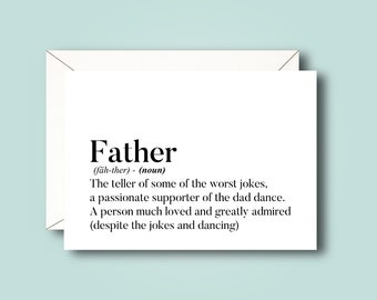 Father Daughter Card