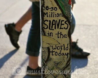 30 million slaves in the world