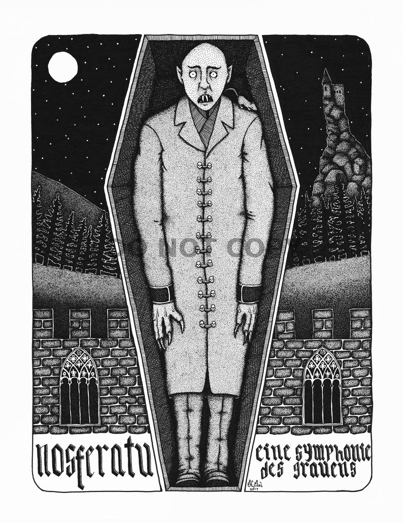 Nosferatu Movie Poster Print