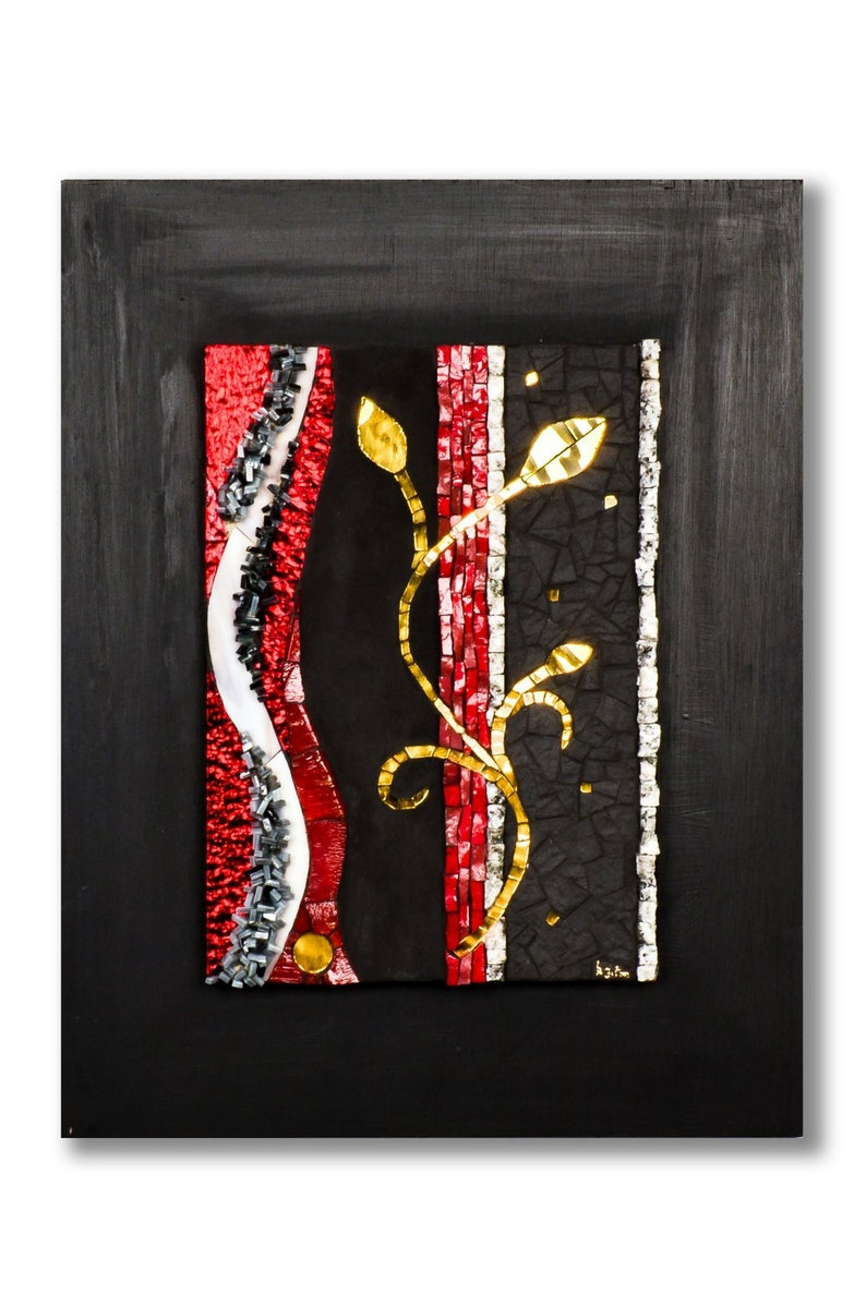 Mosaic painting for wall decoration image 0