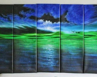 5-panel painting