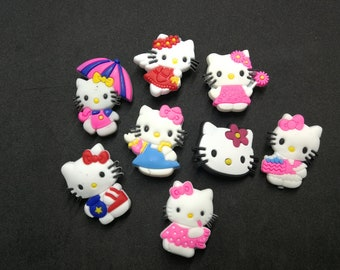37d7ea1e11bee Hello Kitty svg Shoe Charms