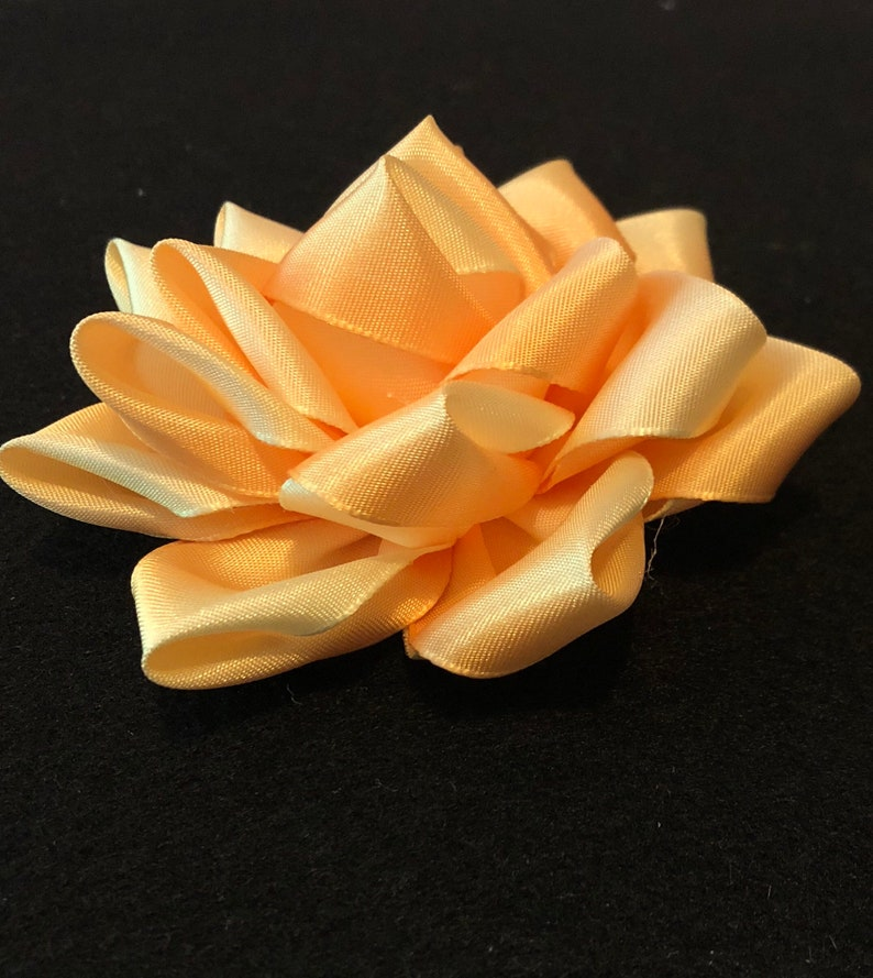 Ribbon Flower Corsage