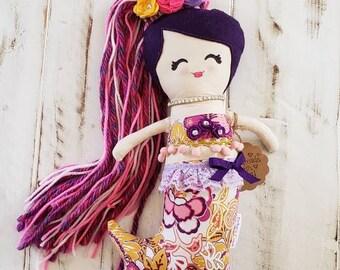 Mermaid Keepsake Doll