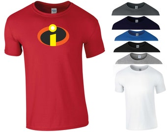 e344f56f5 The Incredibles T Shirt Disney Pixar Animation Anime Marvel Comics MCU  Parody Jack-Jack Parr Funny Joke Birthday Gift Men Tee Top S-5XL
