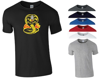 0a366a3b4 Cobra Kai T Shirt The Karate Kid Sweep The Leg Snake The Youtube Red TV  Series Funny Joke Birthday Gift Men Tee Top S-5XL