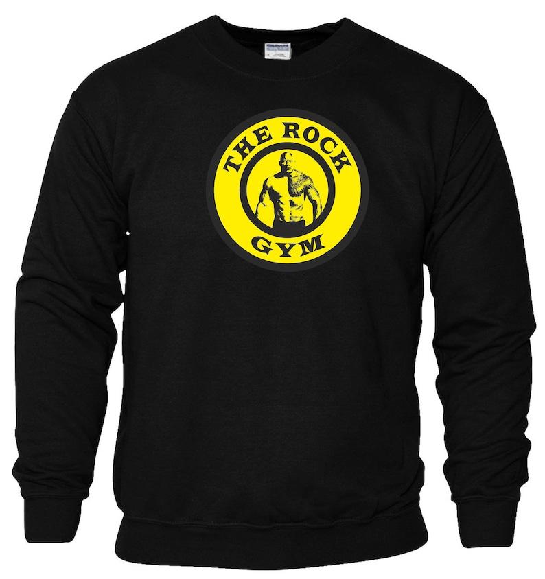 The Rock Gym T Shirt Beast Mode Dwayne Johnson MMA Boxing Exercise  Motivational Body Building Brahma Bull Birthday Gift Men Top S-2XL
