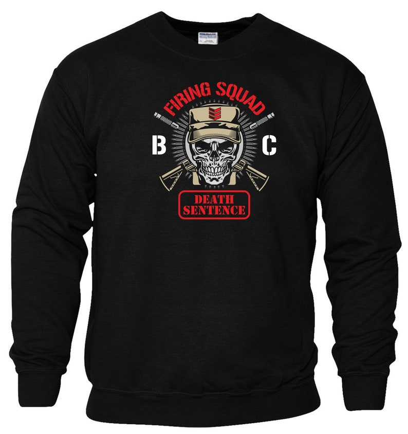 33e39d8cbb215 Bullet Club Firing Squad Sweatshirt New Japan Pro Wrestling