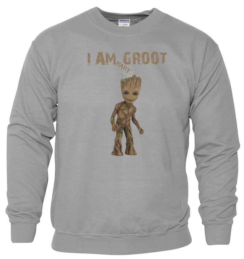 Baby Groot In Pocket Design Jumper Top Guardians of the Galaxy Jumper