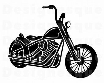 Motorcycle Svg Etsy