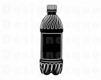 Plastic Soda Bottle Etsy